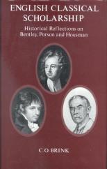 English Classical scholarship 0227678729